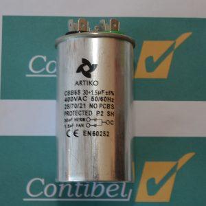 kondenzator 30+1,5uF